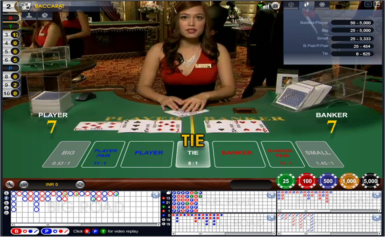 Casino baccarat online indonesia casinos near green bay